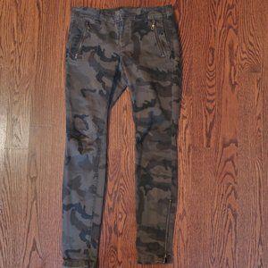 Zara Basic Camo Jeans Sz 8